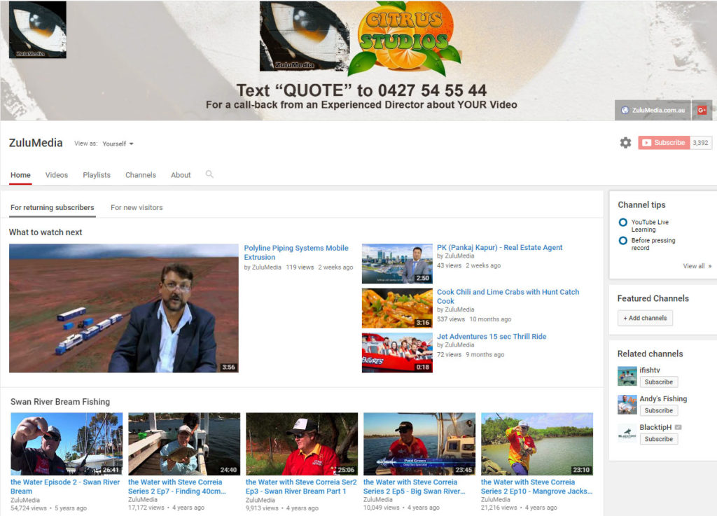 https://www.youtube.com/user/ZuluMedia?&ab_channel=ZuluMedia